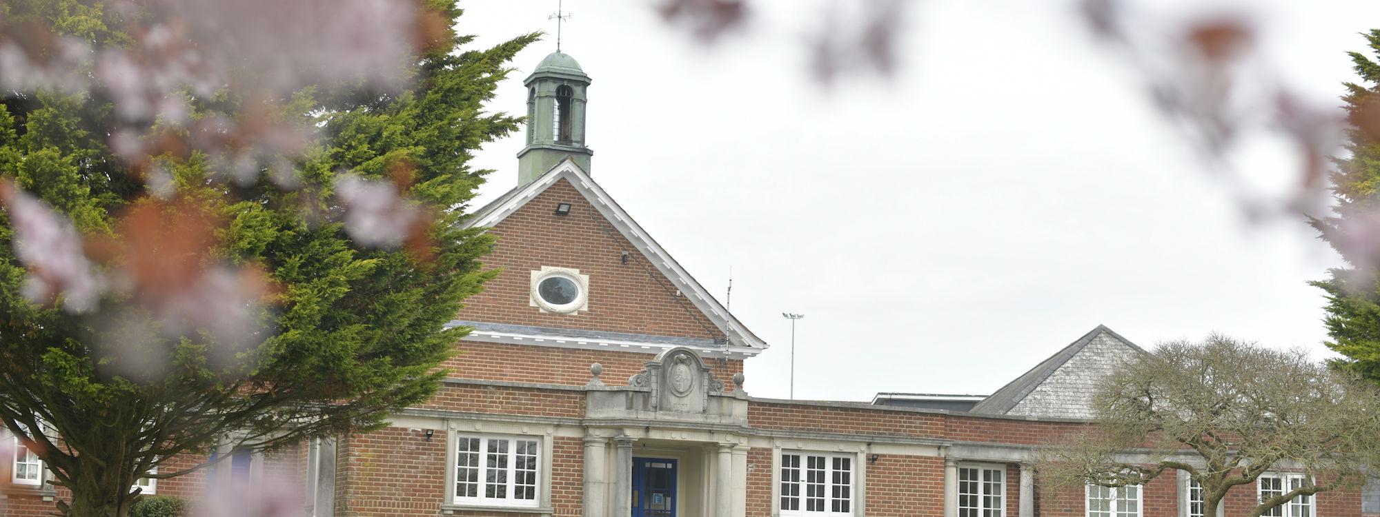学校门前红叶2