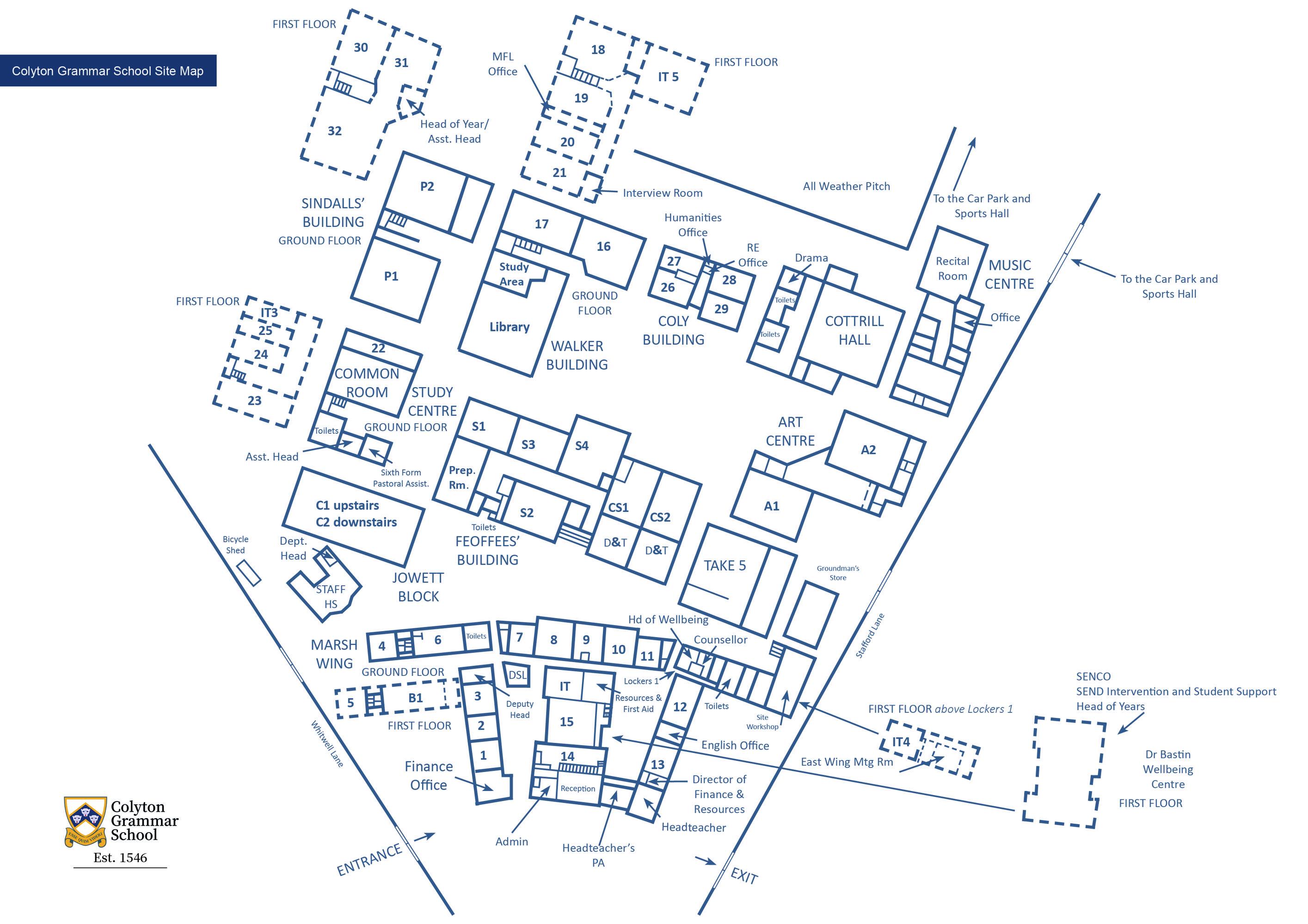 Site map june 2021